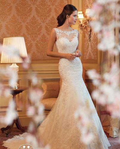 vestidos novia barato nuevo sirena blanco ivory oferta a3 wa