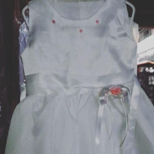 vestidos para bautizo. talla 0-1-2 y 4