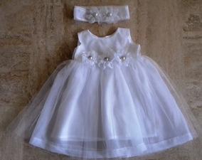 Vestido De Bautizo Para Niñas De 1 Año Vestidos Blanco En