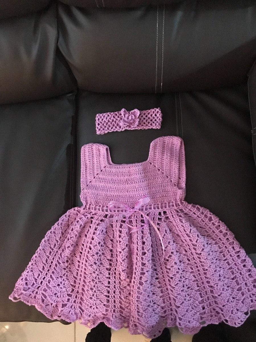 Vestidos Para Bebés En Crochet - $ 395.00 en Mercado Libre