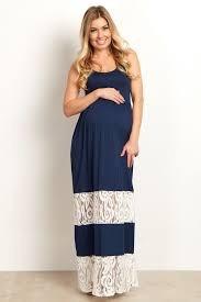 Modelos de vestidos de fiesta maternos