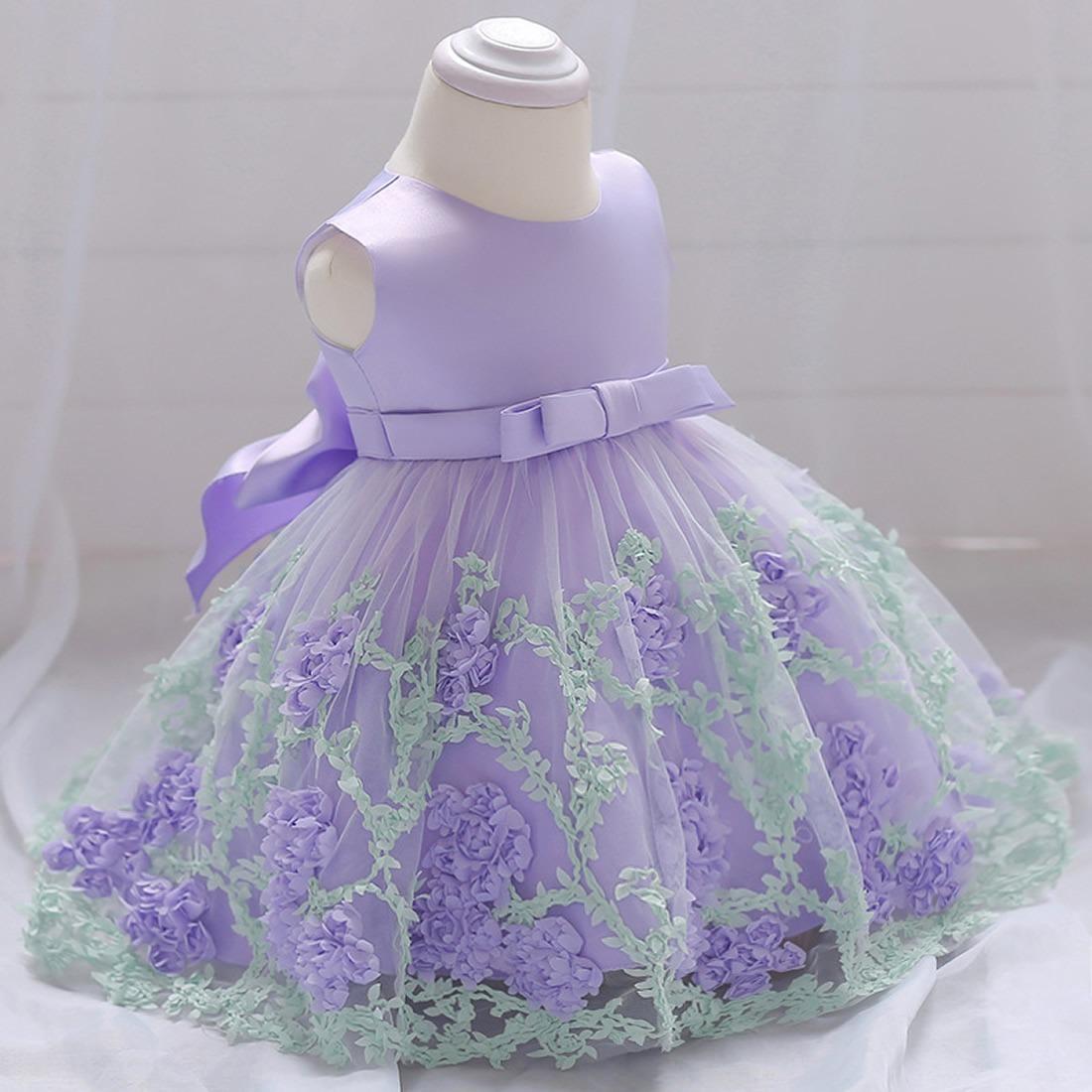 Vestidos Para Niña 1-3 Años 2019 Moda Princesa Gasa -   999.00 en ... 701dc6a49004
