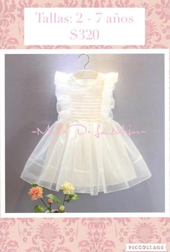 vestidos para niña