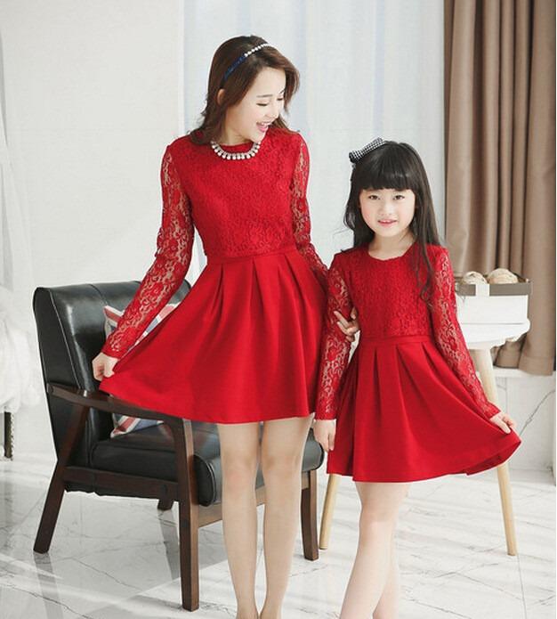 Vestidos Para Niña Madre Hija Modernos Cortos Largos
