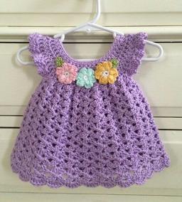 Vestidos Para Niña Tejido A Mano