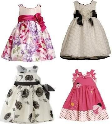 vestidos para niñas bebe