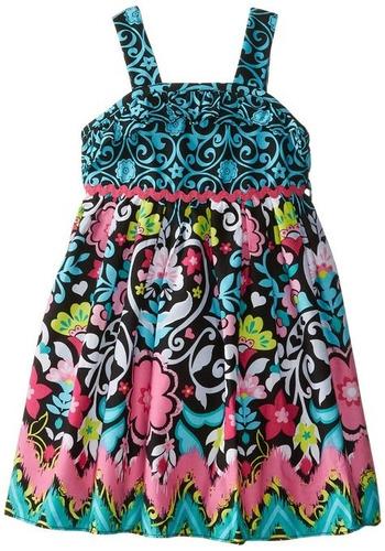 vestidos para niñas importados algodón ...