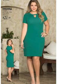 c1b571050 Venta De Vestidos De Tallas Plus - Mujer Vestidos en Ropa - Mercado ...