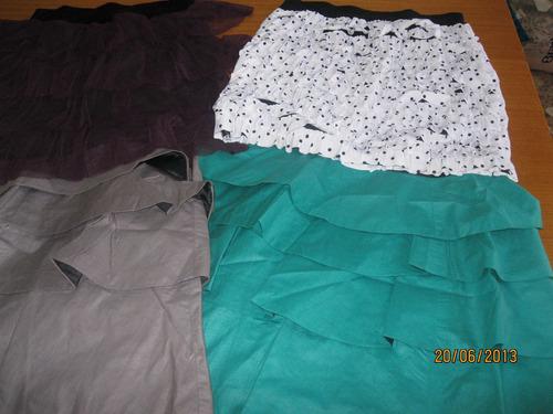 vestidos polleras minis blusas strapless shorts $350