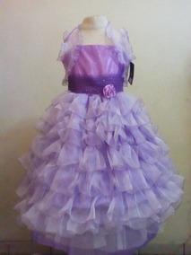 Vestido Charra Para Niña Vestidos Largo 12 En Baja