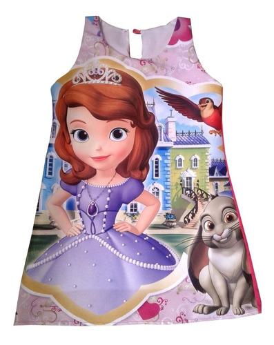 vestidos princesa sofia entrega en 15 días