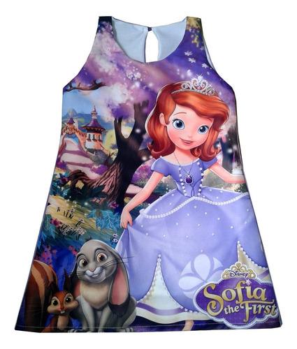 vestidos princesita sofia - ig