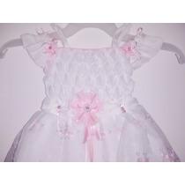 Vestidos De Bautizo Para Niña Talla Única 2 Lindos Y Comodo