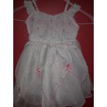 Lindo Vestido De Niña Talla 1 Añito, Sirve Para Bautizo