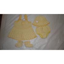 Bellisimos Vestidos Tejidos Para Bebes