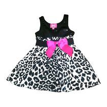 Vestido Animal Print Niña Bebe 12 Meses