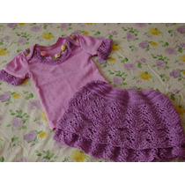 Conjuntos De Faldas Tejidas Para Bebes