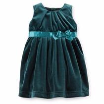 Vestido De Fiesta Carter Bebe Niña Talla 9 Meses Con Panty