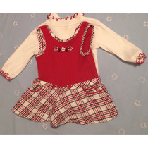 Vestido Casual De Niñas De 3 A 6 Meses
