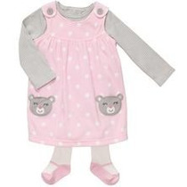 Vendo Vestidos Casuales Carters Originales Para Niña 3 Pzas