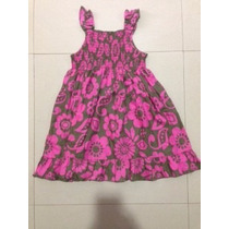 Bello Vestido Carters Para Niña, Talla 3t, Como Nuevo!