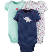 Bodies Carters X 3 Bodys Ropa Bebe Carters 3 A 6 Meses