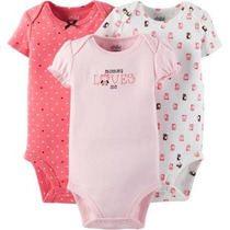 Bodies Carters X 3 Bodys Ropa Bebe Carters 0 A 3 Meses