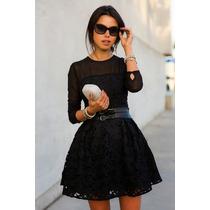 Claudia Shop Vestido Encaje Primavera Verano Importado Pedid