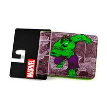 Billetera Hulk Marvel Hombre Nueva Bioworld Importado