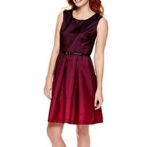 Precioso Vestido Liz Claiborne De Fiesta Nuevo!