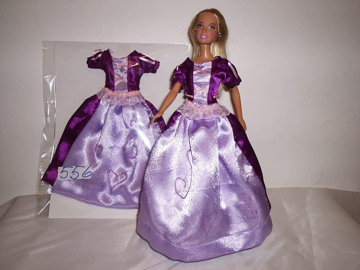 Vestidos Ropa Para Barbie, Princesas , Novia De Calidad Y T - Bs ...