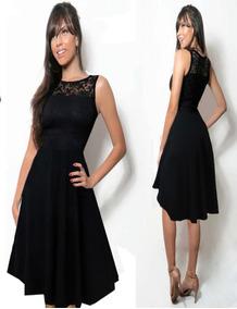a379ba2dbf Detalhe Prata Vestidos Saias Vestido Renda C - Vestidos Femeninos ...