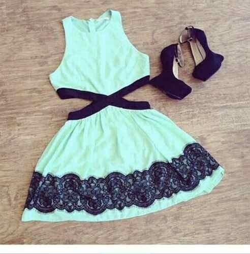Fotos de vestidos curto simples