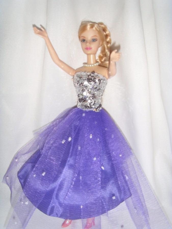 Vestido De Muñeca Barbie