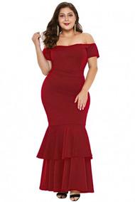 Vestido Rojo Quemado Vestidos Mujer En Mercado Libre México