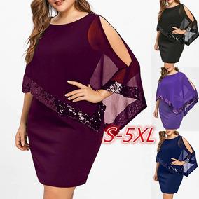 Vestidos Tallas Plus Gorditas Confeccion Dama Mujer