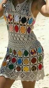 Vestidos Tejidos A Mano Para Playa O Ciudad