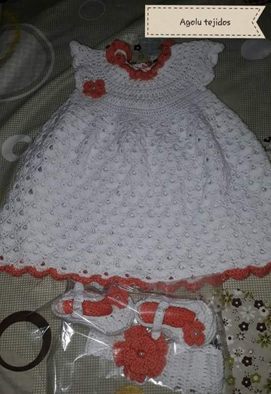 Vestidos Tejidos Crochet 40000 En Mercado Libre