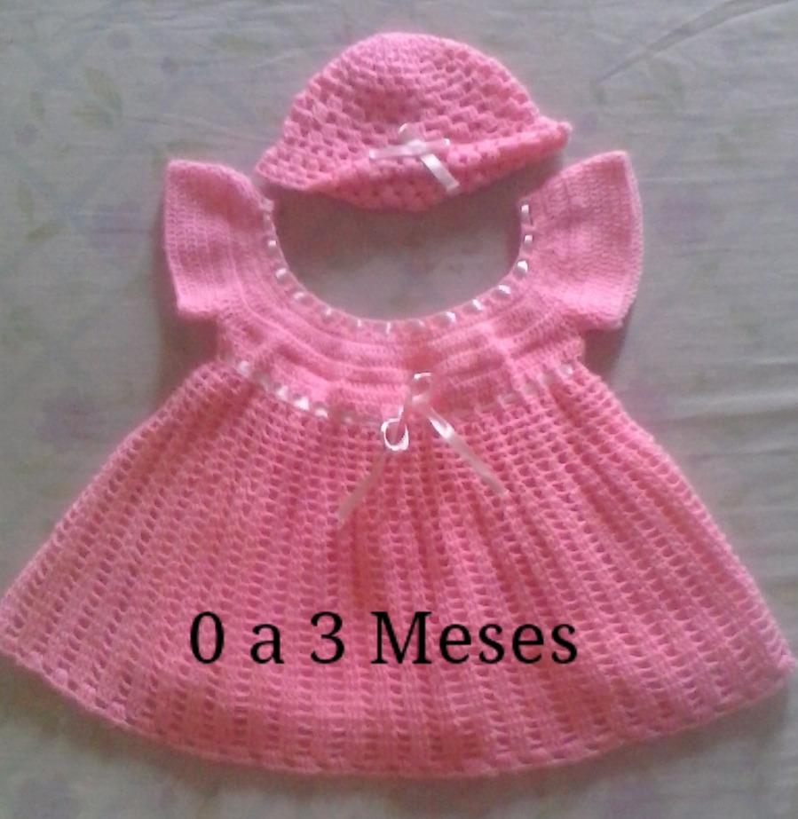 9567fb68e Vestidos Tejidos De Bebé Niña - Bs. 2.000,00 en Mercado Libre
