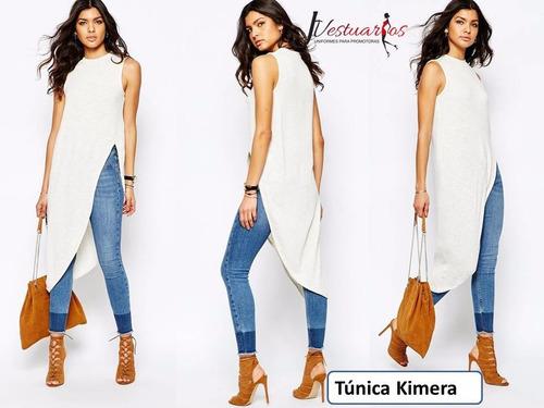 vestidos tunicas para damas - blusones largos - sobretodos