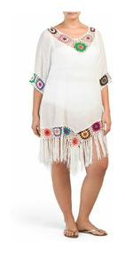 descuento mejor valorado más vendido el más nuevo Vestidos Tunicas Playa Tejidos Crochet Verano