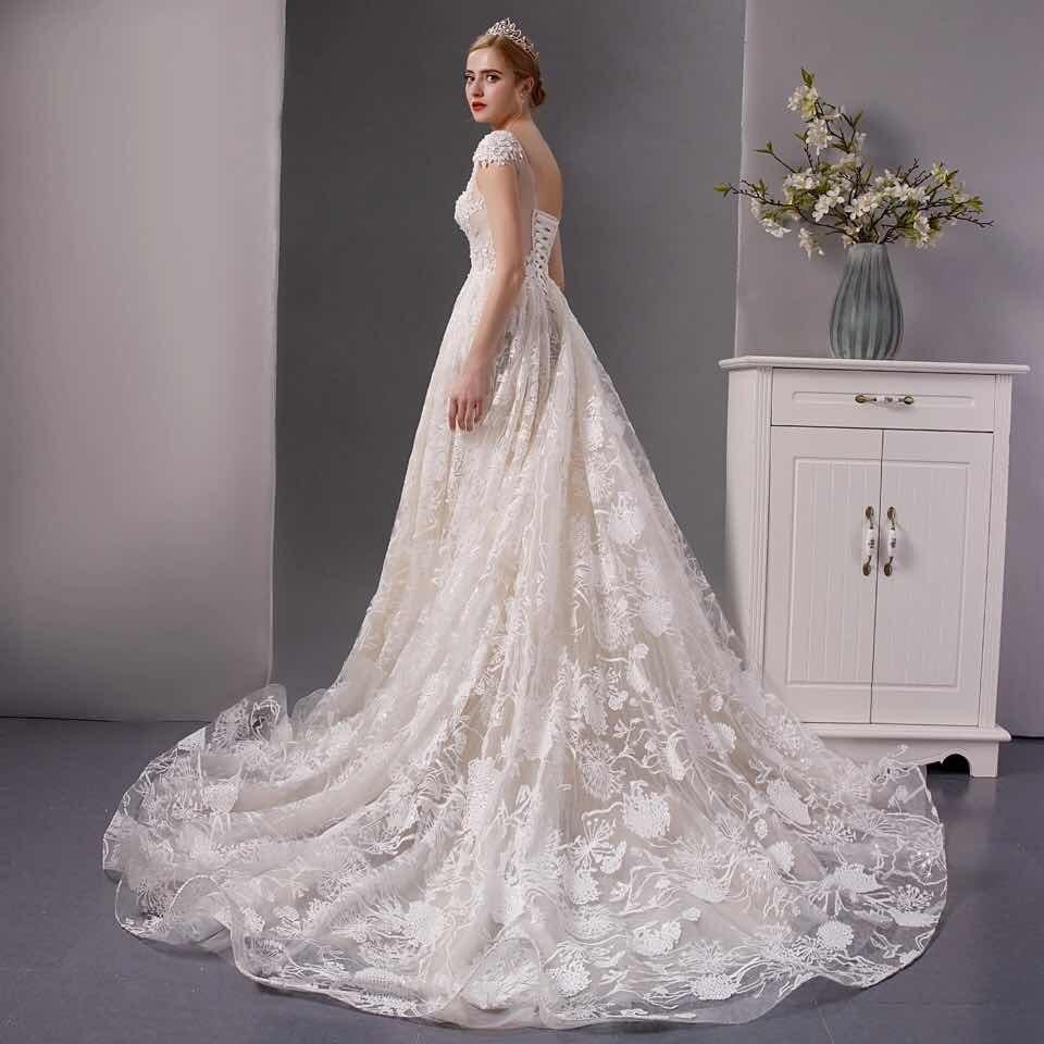 bajo precio d4063 45fba Vestidos Vestido Novia Barato Nuevo Linea A Ivory Blanco Sul