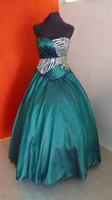 Vestidos Xv Verde Menta Vestidos De Mujer Largo Nuevo En
