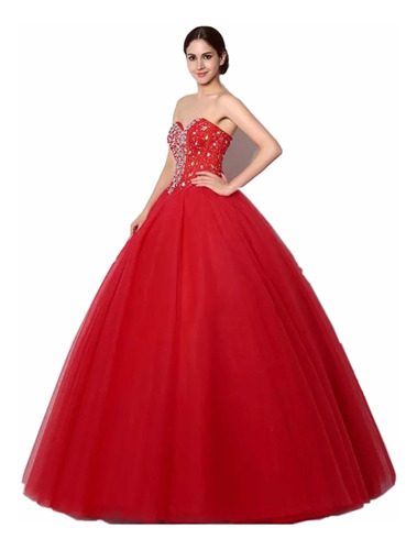 vestidos xv años quince años 15 años rojo buen fin vestido