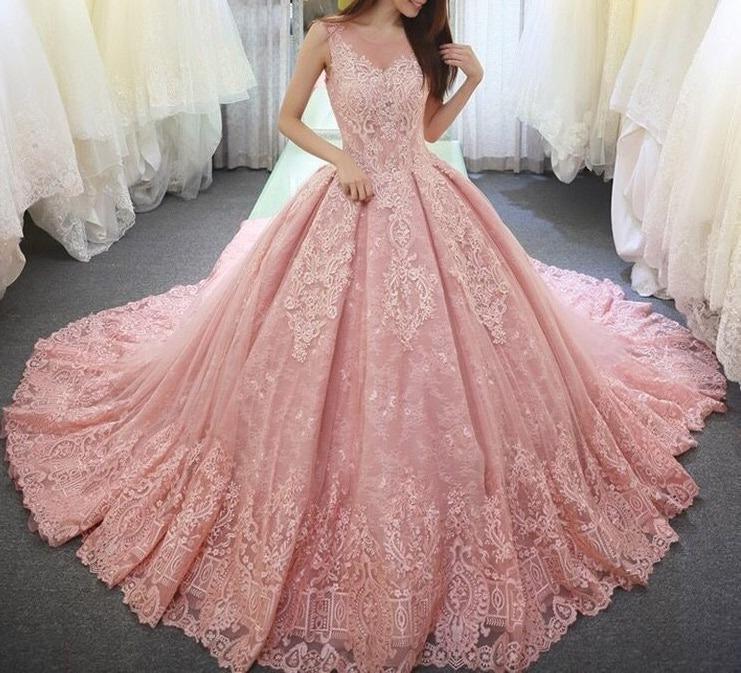 Vestidos Rosas Vestidos Para Xv A Os 7917200a95
