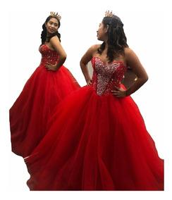 Vestidos De Xv Guindas Novia Largos Mujer Yucatan Merida