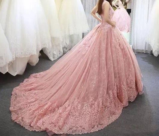 438188deed Vestidos Xv Años Quinceaños 15 Años Rosa Rosado Buen Fin ...