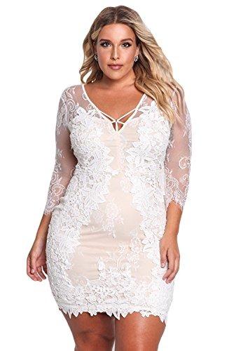 Vestidos Xxl Tallas Grandes Plus Ropa De Moda Para Mujer Se ... 63ff4fb591c8
