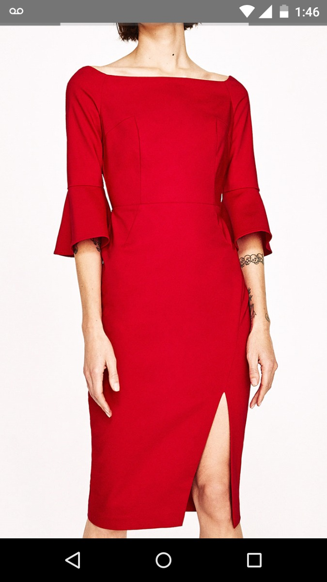 Kleider Zara Mexico Elegant 2019 Damen Ls5rc3qj4a