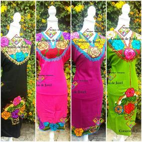 9e8f4cce87 Hermosos Vestidos Artesanales De Chiapas en Mercado Libre México